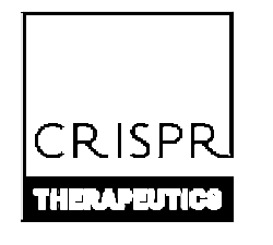 CRISPR Therapeutics Stock