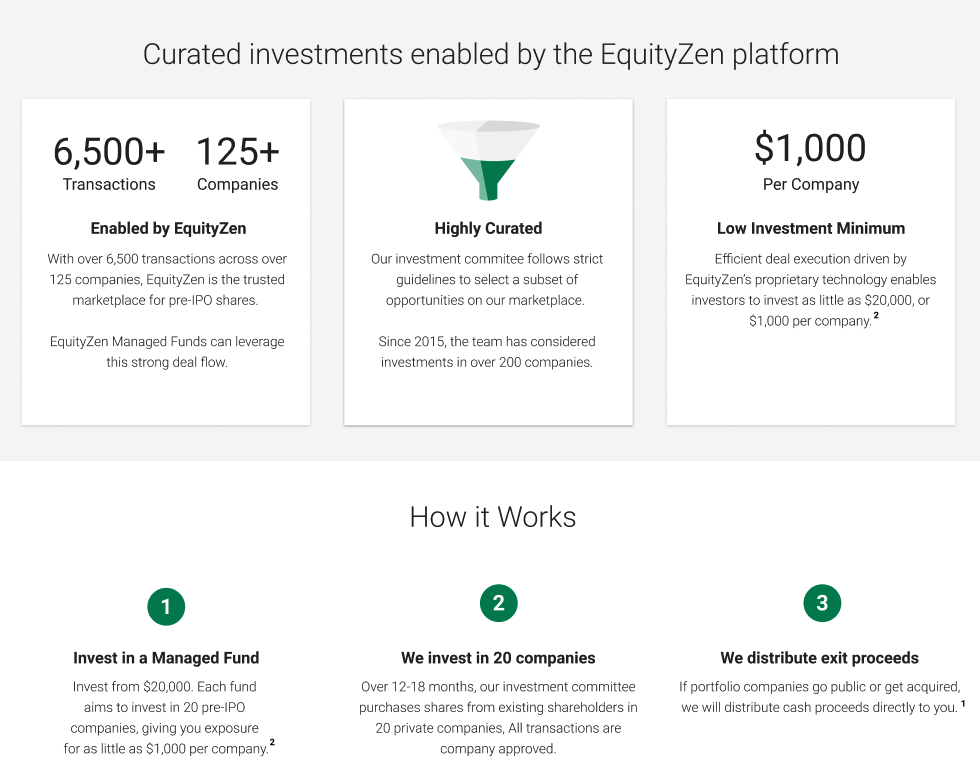 EquityZen Managed Fund Explainer