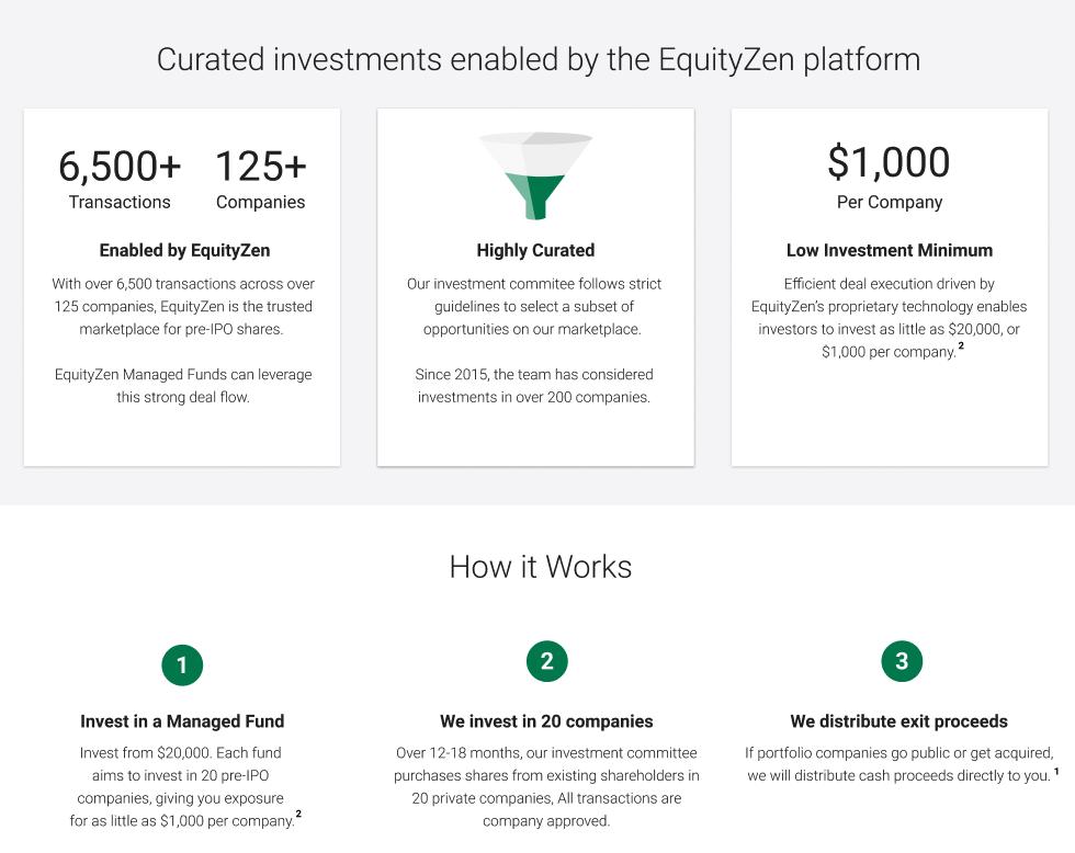 EquityZen Managed Fund Explainer